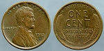 1913-D Lincoln Cent XF