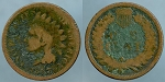 1867 Indian cent  Cull