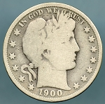 1900 Barber Half Dollar Good