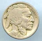 1921 Buffalo Nickel VG