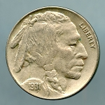 1931 S Buffalo Nickel XF 45