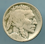 1920 D Buffalo Nickel VG