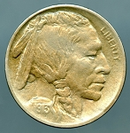 1913 Ty 1 Buffalo Nickel AU 55