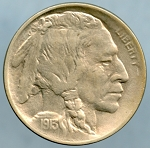 1913 T1 Buffalo Nickel Choice B.U. MS-63