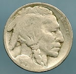1915 Buffalo Nickel Good