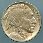 1916 Buffalo Nickel XF-40 cleaned