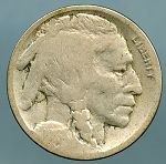 1916 Buffalo Nickel AG