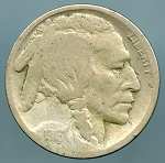 1916-D Buffalo Nickel AG