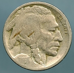 1916-D Buffalo Nickel AG/G