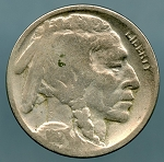 1917-D Buffalo Nickel AG