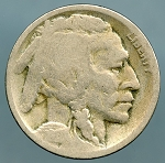 1917-D Buffalo Nickel Good