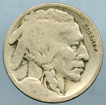 1917 S Buffalo Nickel About Good