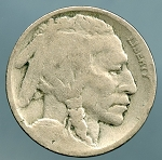 1918 Buffalo Nickel AG