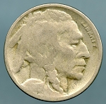 1918-D Buffalo Nickel AG