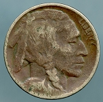 1918-D Buffalo Nickel Cull