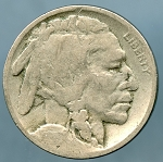 1919 D Buffalo Nickel About Good