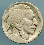 1919 D Buffalo Nickel Good