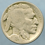1920 S Buffalo Nickel Good