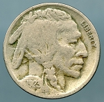 1923 Buffalo Nickel Good