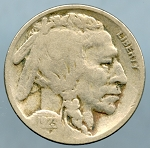1923 S Buffalo Nickel Very Fine