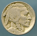 1924 Buffalo Nickel AG