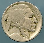 1924 Buffalo Nickel Good