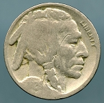 1926 Buffalo Nickel AG