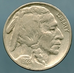 1928 Buffalo Nickel Fine