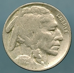 1929 Buffalo Nickel VG