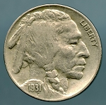 1931 S Buffalo Nickel XF 40
