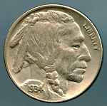 1934 D Buffalo Nickel XF 45