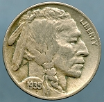 1935 D Buffalo Nickel XF-40