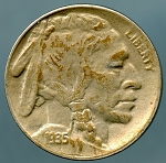 1935 D Buffalo Nickel XF 45