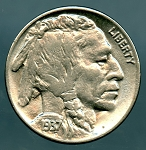 1937 Buffalo Nickel MS 60