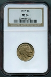 1937 Buffalo Nickel NGC MS-64