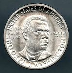 1946 Booker T. Washington Half Dollar MS 63