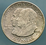 1923-S Monroe Doctrine Commemorative Half XF45
