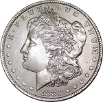 1883 O Morgan Dollar MS-60