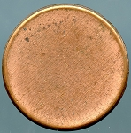 Lincoln Cent Blank Planchet Zinc Type 2 - Mint State