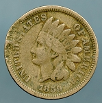 1859 C.N. Indian Cent CULL