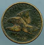 1858 S.L. Flying Eagle Cent Cull