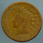 1875 Indian Cent Good