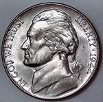 1944 Jefferson Nickel MS-63