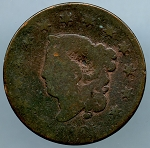 1825 Large Cent AG minus