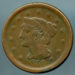1851 Large Cent AG