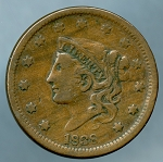 1838 Large Cent VF-20