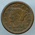 1848 Large Cent CULL