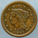 1851 Large Cent Choice VF-35