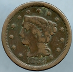 1854 Large Cent Good