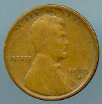 1910 S Lincoln Cent VG